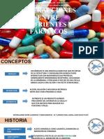 Interacciones Entre Nutrientes y Fármacos Dra Ana