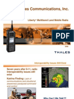 Thales Multiband Portable SDR
