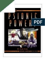Psionic Powers