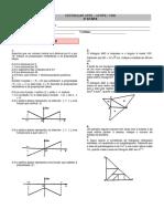 Matemática 2 - 2ª Fase - UFPE - 1990