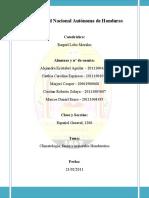 Informe de español- Expo. Minerales, climatologia y fauna hondurañas