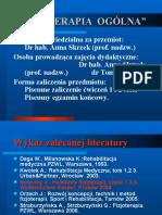%u0106w. 1  Historyczne metody fizjoterapii