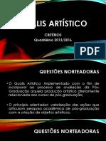 qualis artistico 2013-2016