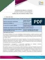 Syllabus del curso Didáctica 517020