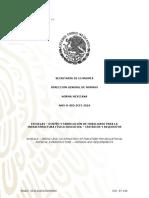 NMX R 083 SCFI 2015 ESCUELAS DISEÑO Y FABRICACION DE MOBILIARIO PARA LA INFRAESTRUCTURA FISICA EDUCATIVA CRITERIOS Y REQUISITOS
