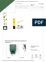 Medidor de Ph Eletrônico Digital Bateria Inclusa Dura 700h - R$ 35,49 Em Mercado Livre
