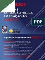 Pesquisa - Pandemia em Óbidos (PA)