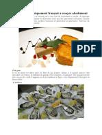 Les 25 plats typiquement français à essayer absolument