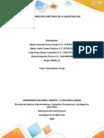 Paso 2 - Diseño Exploratorio de La Investigación- Trabajo Colaborativo