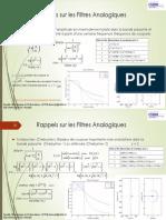 Pages de Synthèse des Filtres RII-2