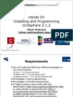 GridSphere-2.1.2-HandsOn