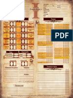 Dh II - Лист Персонажа - V 1.0