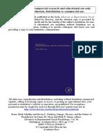 Schaller & Neuberg (2012) Danger, Disease, and the Nature of Prejudice
