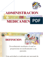 Presentación clase 12 administración de medicamentos
