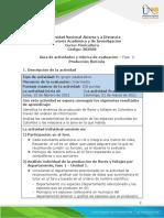 Guia de actividades y Rúbrica de evaluación. Fase 2 Producción florícola