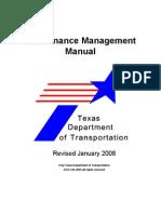 Maintenance Management Manual
