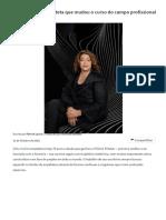 Zaha Hadid, a arquiteta que mudou o curso do campo profissional _ ArchDaily Brasil