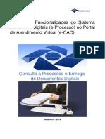 Manual das Funcionalidades do e-Processo - Versão 17-12-2018