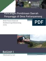 Rancangan Pembinaan Daerah Penyangga di Desa pattanyamang