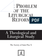 The Problem With the Liturgical Reform