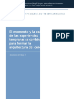 Español_ The Timing and Quality of Early Experiences