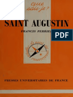 Saint Augustin - F. Ferrier