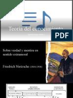 Teoría del conocimiento-Nietzsche