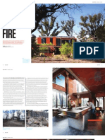 Sanctuary magazine issue 14 - Reborn from fire - Callignee, VIC green home profile