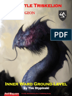 & Magazine the Castle Triskelion Megadungeon Inner Ward Ground Level (1e,OSRIC)
