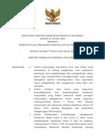 PMK No. 23 Th 2020 Ttg Penetapan Dan Perubahan Penggolongan Psikotropika
