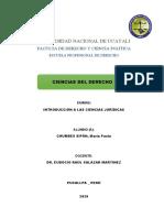 CIENCIAS DEL DERECHO - EUDOCIO
