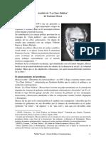 Analisis de La Clase Politica de Gaetano