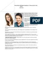 John Lloyd Cruz on relationship with Shaina Magdayao