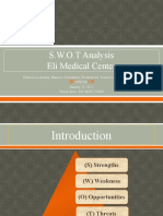 Swot Analysis Power Point Project Nur 587