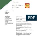 Reteta Pesto Sicilian - Varianta Printabila
