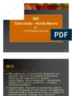 MIS_1_HONDAcase study