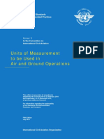 Icao Annex 5 Unitsofmeasurementtobeusedinairandgroundoperations