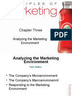 Chapter 3 - Analyzing the Marketing Environment