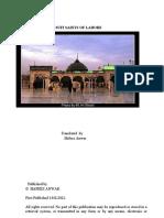 Sufi Saints of Lahore