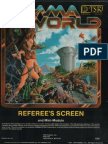 Gamma World GM Screen