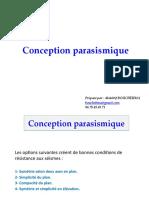 Conception parasismique