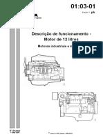 Descrição de funcionamento motor D12