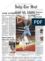 The Daily Tar Heel for February 24, 2011