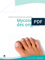 Guide à l Intention Des Patients. Mycoses Des Ongles. Faire Plus Pour La Dermatologie