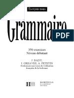 Grammaire Fra N