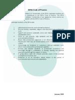 IEMA Code of Practice 2008