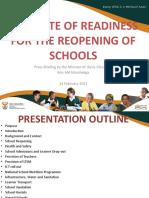Press Briefing Presentation