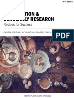 Dissertation and Scholarly Research Recipes for Success ( PDFDrive.com )