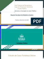 Fortaleza Online - Rayane Medeiros apres