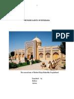 MUSLIM SAINTS OF BUKHARA